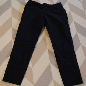 Banana Republic Womens Navy Blue Trousers